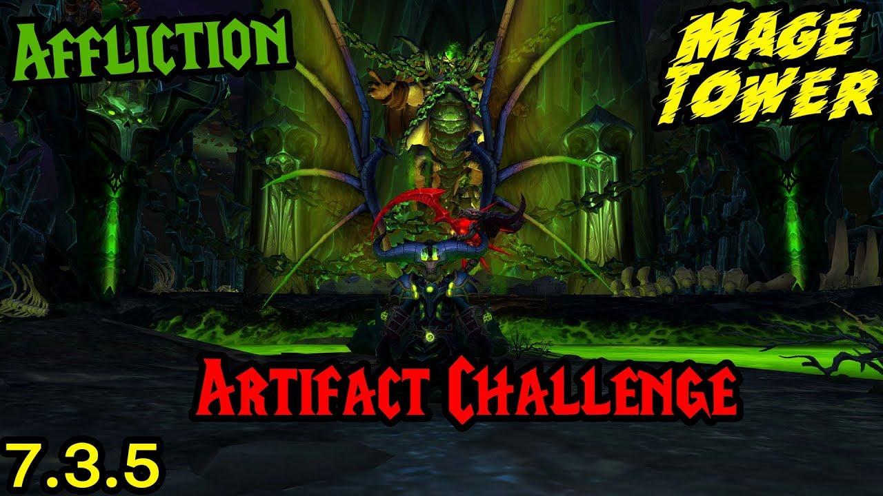 7. 1. 5 affliction warlock face melting talent guide/build legion.