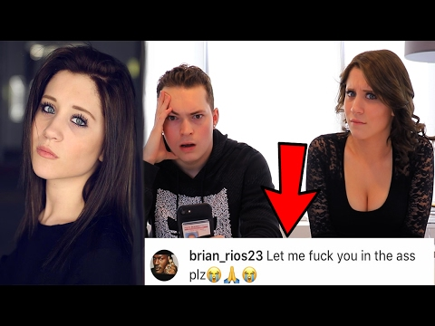 READING MY GIRLFRIEND'S INSTAGRAM COMMENTS!