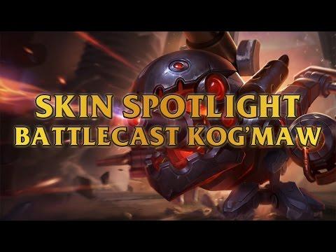 Battlecast Kog'Maw Skin Spotlight