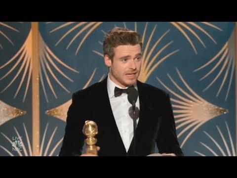Richard Madden Wins Best TV Actor | 2019 Golden Globes