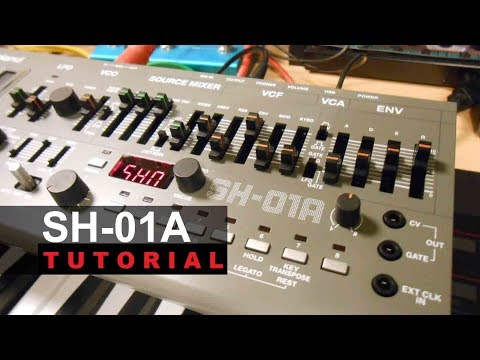 Roland SH-01A Synthesizer Module Tutorial Made Easy