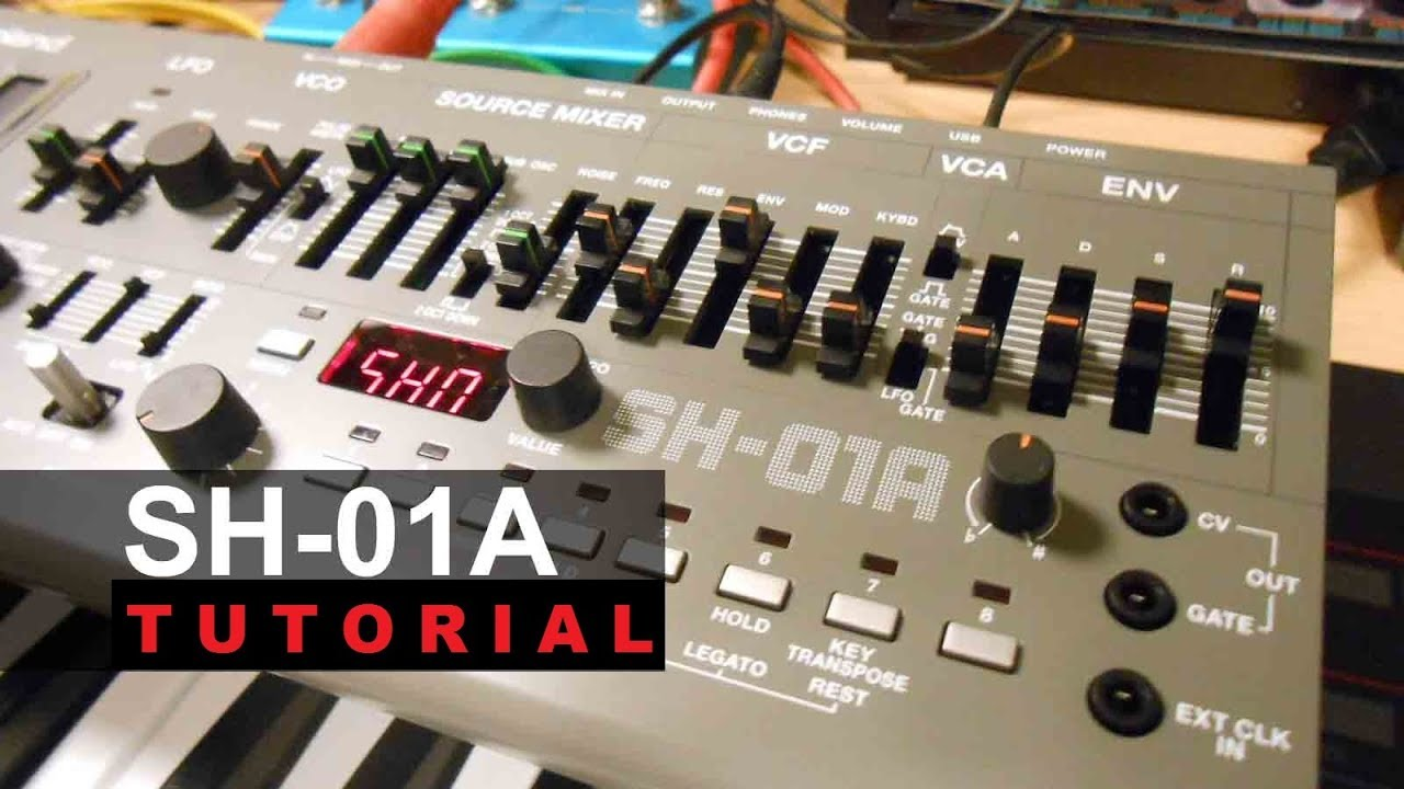 roland sh 01a synthesizer module tutorial made easy youtube. Black Bedroom Furniture Sets. Home Design Ideas
