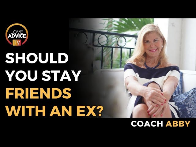 Being Friends With An Ex | Should You Stay Friends With An Ex?