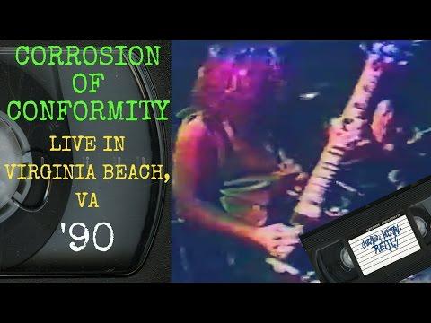 Corrosion Of Conformity Live in Virginia Beach VA April 7 1990 FULL CONCERT