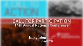 CALL FOR PARTICIPATION | 14th Annual Imagining America National Conference