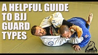 Helpful Guide to Common BJJ Guard Types