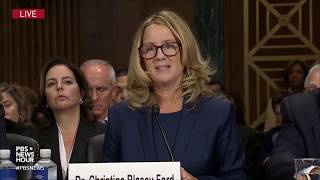 What you may have missed from Brett Kavanaugh and Christine Blasey Ford's testimony In an extraordinary day on Capitol Hill, Supreme Court nominee Brett Kavanaugh and Christine Blasey Ford, the first woman to accuse him of sexual misconduct ..., From YouTubeVideos