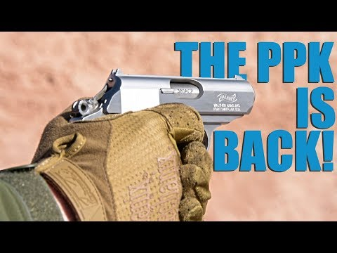 Walther Brings the PPK Back Into Production! (SHOT Show 2019)