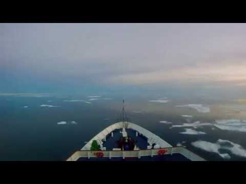 Time Lapse Sailing in the Canadian Arctic
