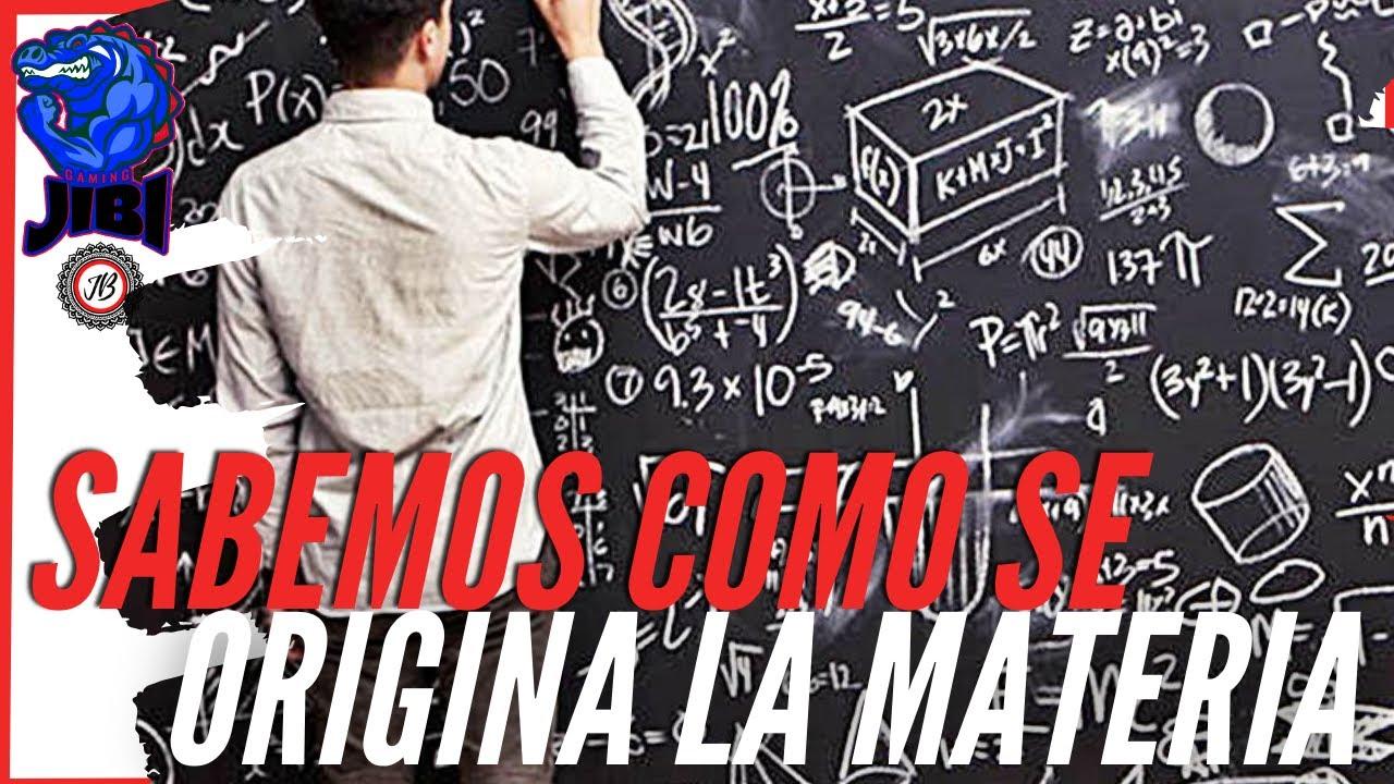 Download INCREIBLE descubren como se FORMA la MATERIA Y LA VIDA!😱