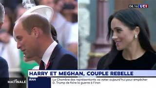 Harry et Meghan, couple rebelle