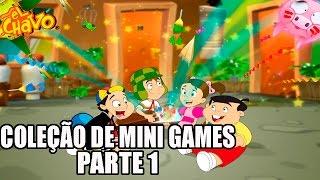 El Chavo - Wii - O JOGO DO CHAVES - COLEÇÃO DE MINI-GAMES - parte 1