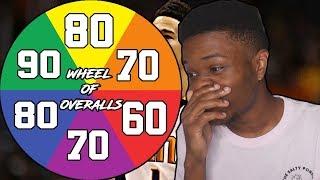 WHEEL OF 2K RATINGS REBUILDING CHALLENGE IN NBA 2K19