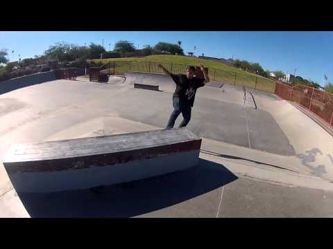 Andrew Miller at Fountain Hills Skatepark by Chad Kawasaki