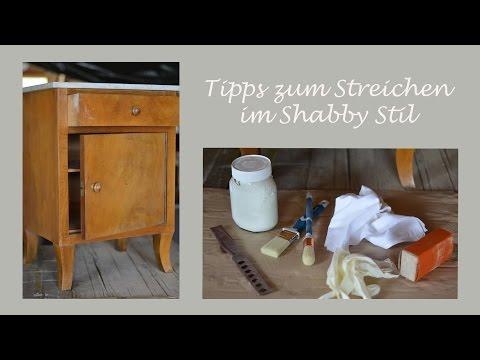 DIY – ein Möbelstück im Shabby Chic Stil streichen – Wertvolle Tipps und Erfahrungen