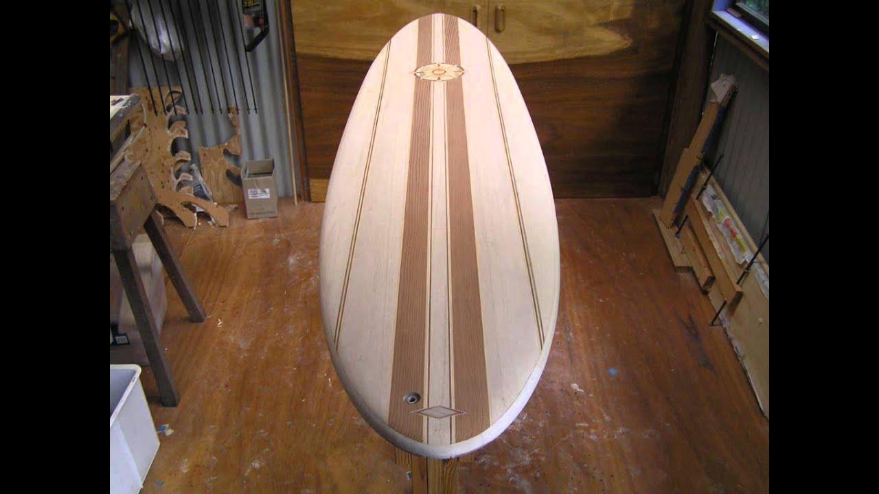 Making Hollow Wooden Paulownia Egg Surfboard Slideshow Wmv