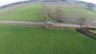 Dronebeelden locatie rondweg Weerselo - Deel 1
