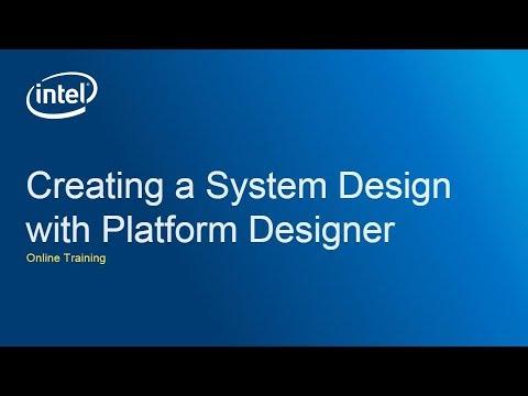Creating a System Design with Platform Designer: Finish the System