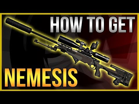 The Division 2 | How to get EXOTIC Sniper - Nemesis FULL Guide