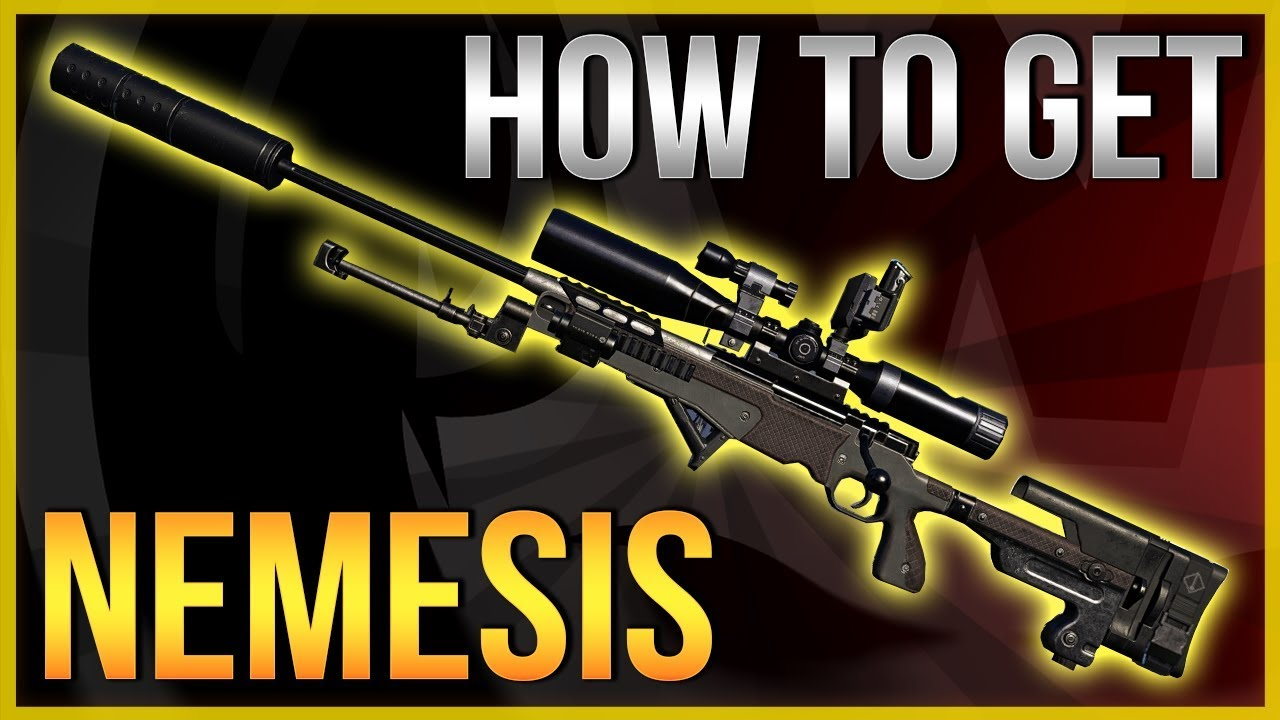 The Division 2 Exotic weapons locations – Nemesis Exotic