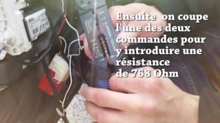 Installation kit verrouillage à distance VW Golf 4