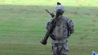 US Army Infantry Team display at Infantry Graduation Ceremony