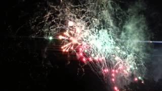 Canada Day 2014 Fireworks - Lethbridge, Alberta