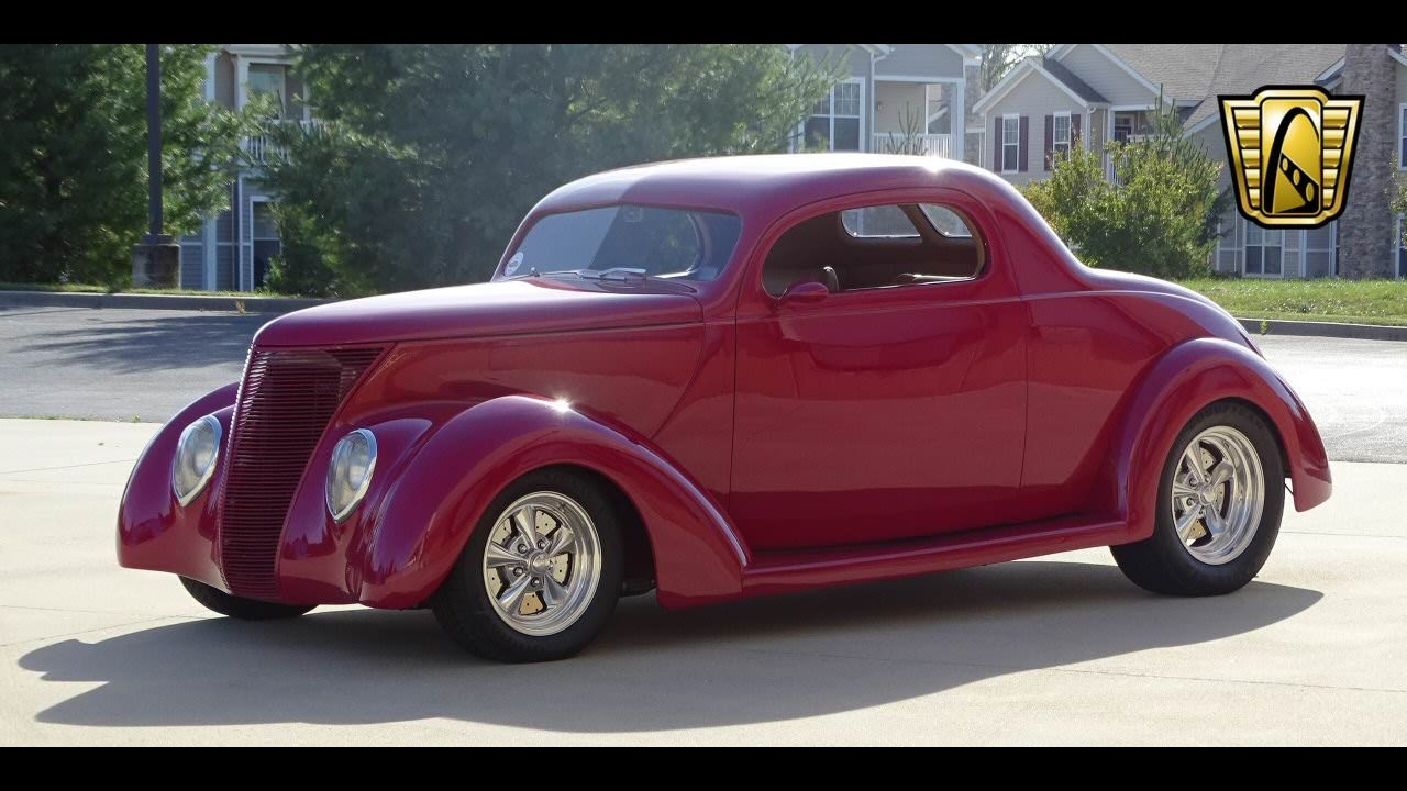 1937 Ford Coupe For Sale At Gateway Classic Cars STL YouTube