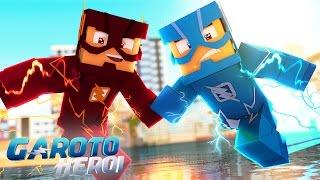 Minecraft: GAROTO HERÓI - CORRENDO SOBRE A ÁGUA! #07 thumbnail