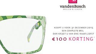 Alleen In December: € 100 Korting Op Uw Bril!
