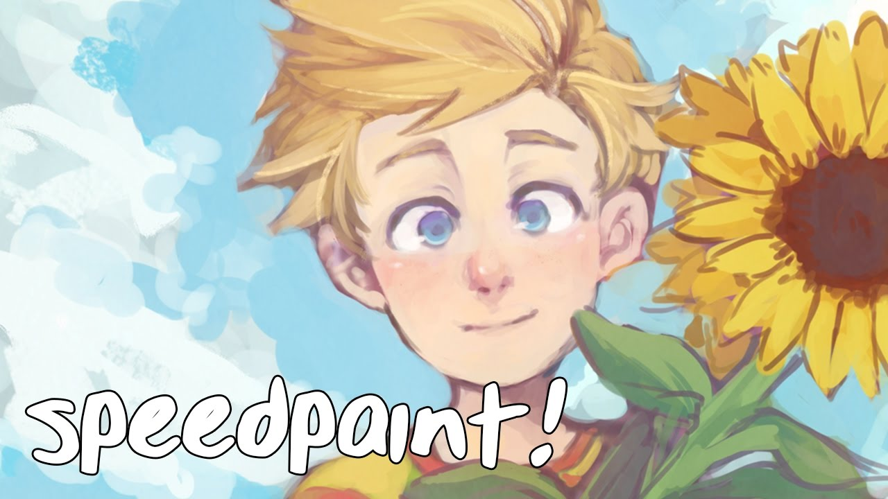[Mother 3 Speedpaint] Lucas