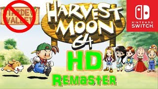Harvest Moon 64 Remaster - Nintendo Switch (Discussion)