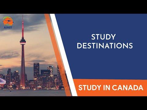 Study in Canada through AINiT.