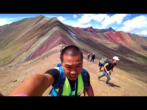 Day trip to Rainbow Mountain and Red Valley | Cusco, Peru || Jan.2018