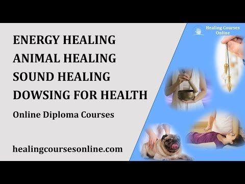 HEALING COURSES ONLINE TRAINING - DIPLOMA CERTIFICATION
