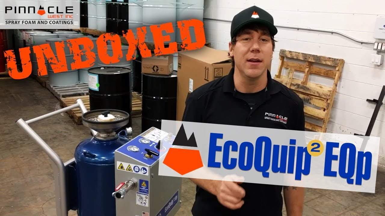Graco Ecoquip 2 EQp Unboxed