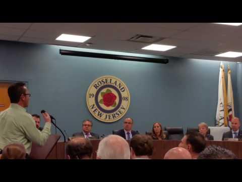 Nick Bellomo Questions Roseland Councilman Rich Leonard