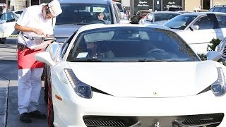 tyga treats kylie jenner to in n out
