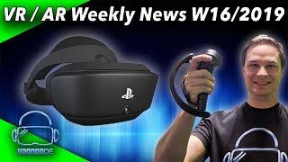 Virtual Reality News (Wochenrückblick KW16/19) Oculus Quest Pre-Order, Knuckles Update, PSVR 2