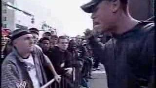 JOHN CENA RAP BATTLES A FAN