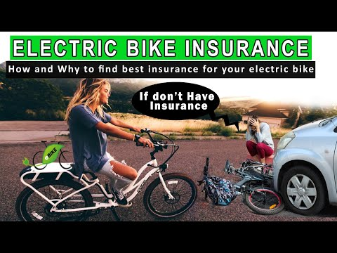 """How and Why to Insure Your Ebike"""