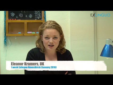 Review (in English) of Exlinguo Novosibirsk Russian language courses by Eleanor, UK