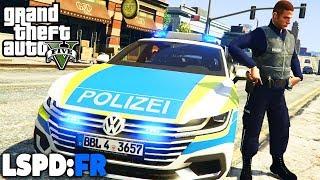 GTA 5 LSPD:FR - Neue Funktion: Nagelbänder - Deutsch - Polizei Mod #50 Grand Theft Auto V