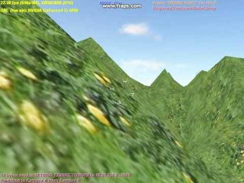 Old C++/D3D Engine - Endless terrain with collision