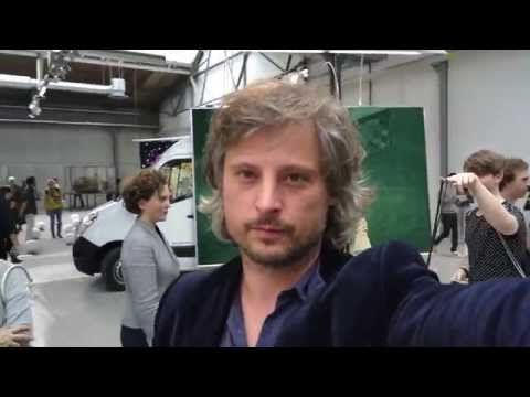 Sebastian Bieniek's contribution to the abc art berlin contemporary art fair 2015.