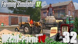 "Farming Simulator 17 Mini-Farm #32 - ""Betoniarka od sąsiada, cement i piach"""