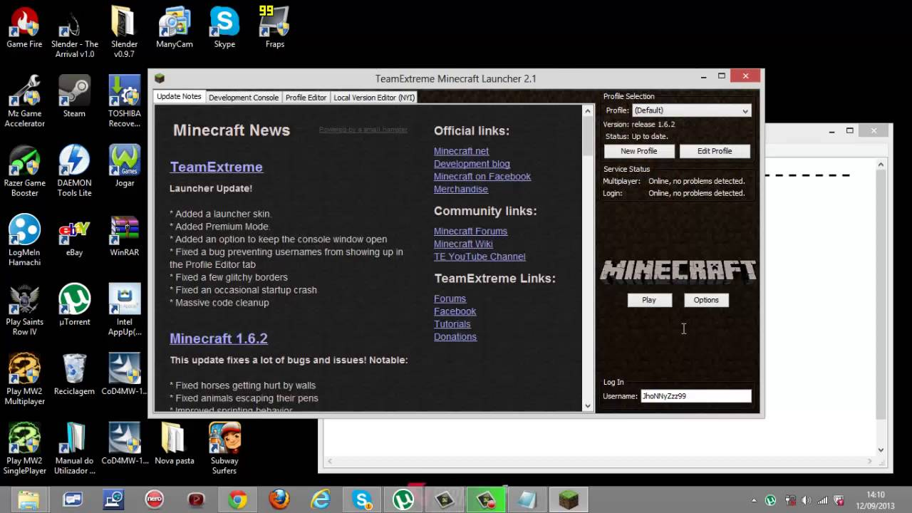 Download Minecraft / / Cracked Launcher Minecraft Cracked