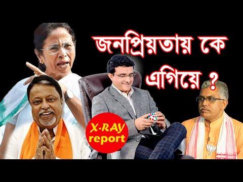 west bengal assembly election 2021/ দেব দিলীপ ঘোষ মমতা সৌরভ গাঙ্গুলী এদের মধ্যে  কে এগিয়ে