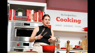 One-Pot Brilliance with Alison Roman | The New York Times Food Festival