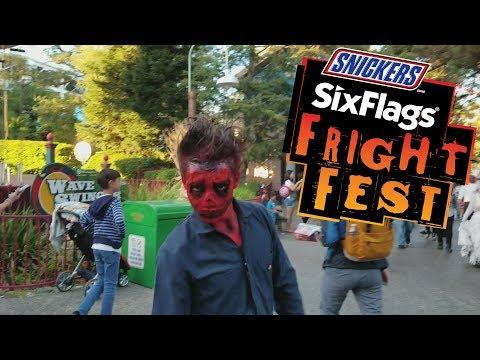 Six Flags Fright Fest - Vallejo, CA